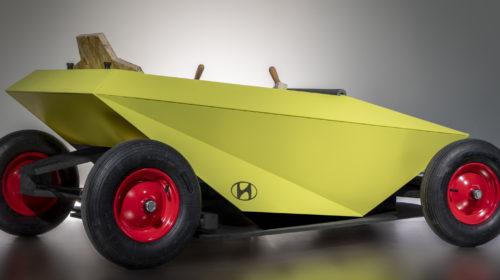 Hyundai ha sviluppato la sua soapbox car