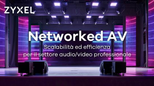 Partnership tra Zyxel e ATEN per offrire una potente soluzione end-to-end AV-over-IP