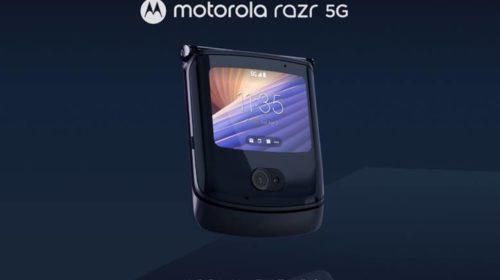Motorola presenta il nuovo razr 5G