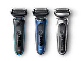Braun presenta i nuovi rasoi Series 5, 6 e 7
