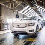 Volvo Cars avvia la produzione della XC40 Recharge completamente elettrica