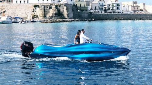 MAMBO: la prima barca al mondo stampata in 3D in vetroresina