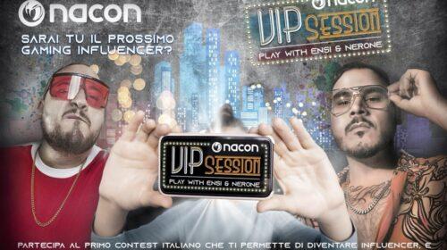NACON VIP SESSION: un contest per realizzare il sogno di incontrare e sfidare i rapper Nerone ed Ensi