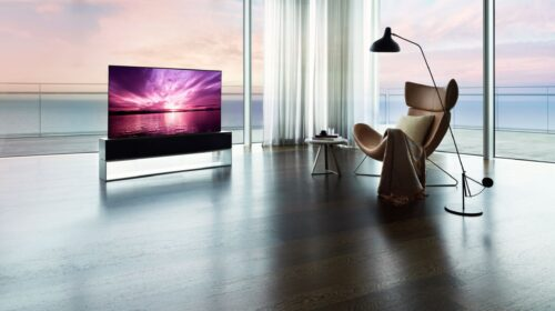 Il TV arrotolabile di LG Electronics è ora disponibile in Corea del Sud