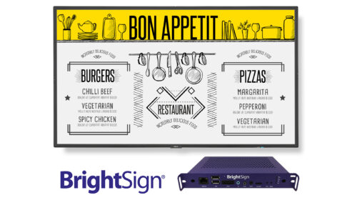 NEC Display Solutions e BrightSign insieme per offrire soluzioni integrate di digital signage