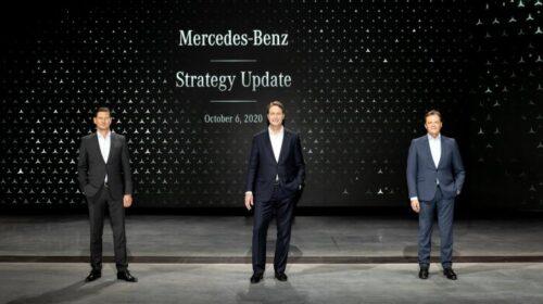 Annunciata la nuova strategia Mercedes-Benz
