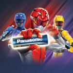 Con Panasonic Energy i Power Rangers incontrano i fan