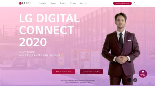 LG presenta Digital Connect 2020