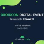Huawei AppGallery main sponsor della 7° edizione di droidcon Italy