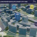 Jaguar Land Rover sviluppa una città intelligente per i test dei veicoli a guida autonoma