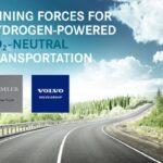 Joint venture tra Volvo Group e Daimler Truck per la produzione su larga scala di celle a combustibile
