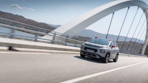 SUV Citroën C3 Aircross con il nuovo motore diesel BlueHDi 110 S&S