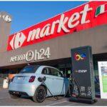 """FCA e Carrefour presentano con Be Charge """"Shop & Charge"""" per la promozione della mobilità elettrica"""
