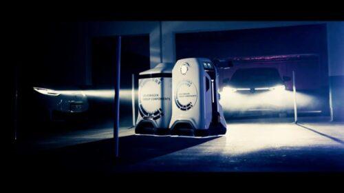 Volkswagen Group presenta il prototipo di un robot mobile per la ricarica