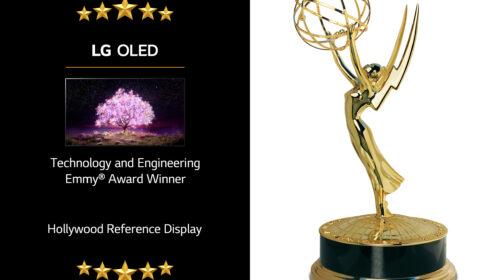 I TV LG OLED premiati alla 72° edizione degli Annual Technology & Engineering Emmy Awards