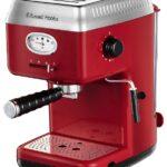 Russell Hobbs lancia la nuova macchina da caffè espresso Retro