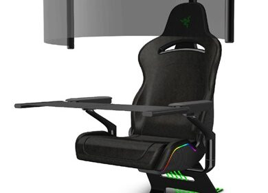 Da Razer la sedia da gaming compatta Project Brooklyn