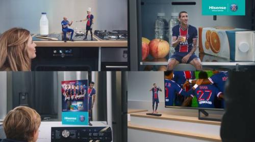 Hisense lancia con il Paris Saint-Germain la nuova campagna 'Live Bold'