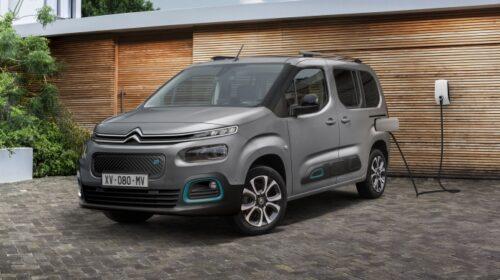 Citroën presenta la nuova versione elettrica della Berlingo