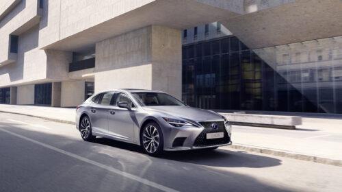 Miglioramento delle performance nella nuova Lexus LS