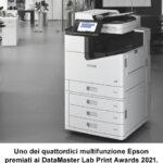 Epson è premiata ai DataMaster Lab Print Awards 2021