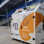 Con l'EcoIsola nel 2020 raccolte 15 tonnellate di cellulari, frullatori e lampadine