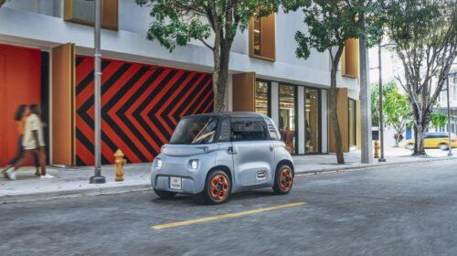 Citroën: Ami -100% ëlectric ordinabile in Italia