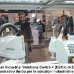 Epson amplia il suo Industrial Solutions Centre virtuale