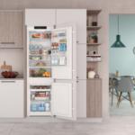 Indesit: nuovi frigoriferi combinati da incasso Total No Frost con Push&Go