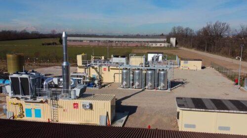 Il primo impianto di biometano da scarti agricoli in Italia supera il traguardo delle 10mila ore di attività