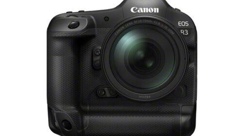 Canon annuncia lo sviluppo della nuova EOS R3