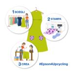 Upcycling: con Epson la moda si fa sostenibile