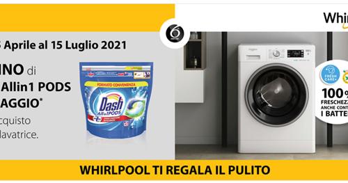 Whirlpool regala il pulito con Dash Pods