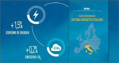 Analisi ENEA: ripartono i consumi di energia ma anche le emissioni