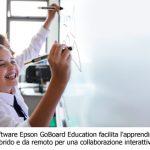 Epson presenta il software GoBoard Education