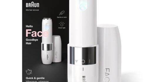 Braun lancia il nuovo depilatore Mini Face