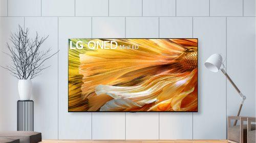 LG annuncia la disponibilità dei TV QNED Mini LED
