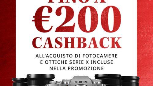 Fujifilm: al via la promozione Summer Cashback