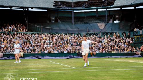 OPPO dona nuova vita alle immagini iconiche del tennis per celebrare il ritorno di Wimbledon