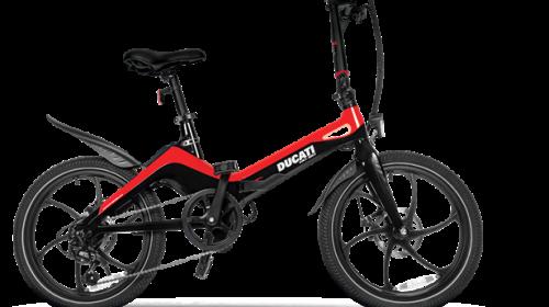 In arrivo la prima e-bike pieghevole in magnesio della linea Ducati Urban e-Mobility