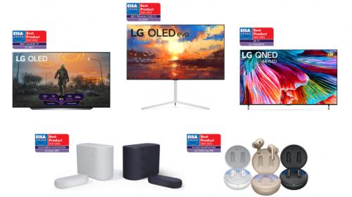 Premi EISA 2021: l'innovazione degli LG OLED TV premiata per il decimo anno