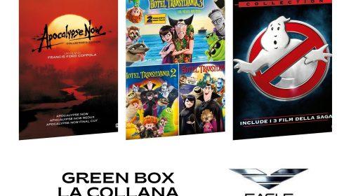 Eagle Pictures lancia le nuove collane GREEN con confezioni plastic free