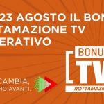Al via il bonus rottamazione tv