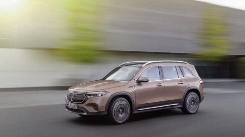 Mercedes EQB: SUV compatto completamente elettrico fino a sette posti