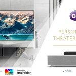 BenQ lancia i videoproiettori Laser TV 4K V7000i e V7050i a ottica ultra corta