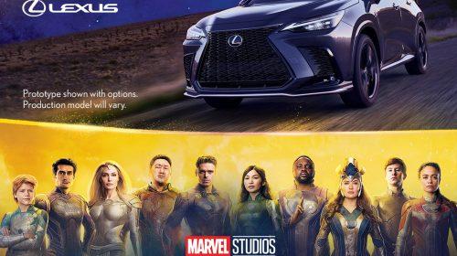 "Nuovo spot ""Eternals"" di Lexus e Marvel Studios con protagonista Kumail Nanjani"
