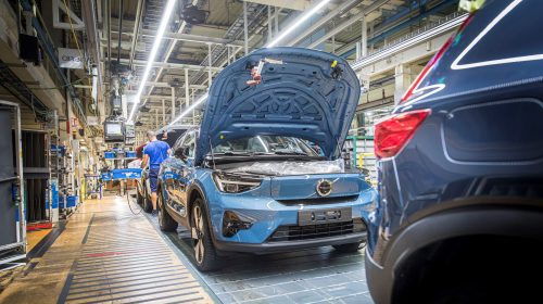 Volvo Cars avvia la produzione della C40 Recharge a Gent